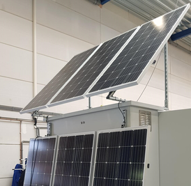 Mechatest Solar powered Water Quality Monitoring Station