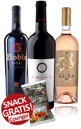 3-er Weinpaket bis 50 Euro |  Noble 5, Anima Chardonnay & Alira Rose
