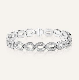 Diamant Bracelet aus 18-Karat Weissgold - 100% Swiss Handmade
