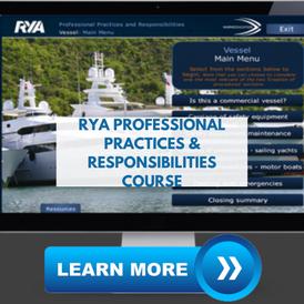 superyacht crew training rya ppr course