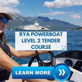 Superyacht Tender RYA Powerboat Level 2 course superyacht crew training