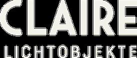 Logo Claire Lichtobjekte
