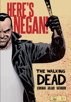 The Walking Dead Here's Negan HC completo Castellano