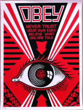 Shepard Fairey Obey Eye