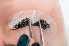 Volumenwimpern Basel, lash extension