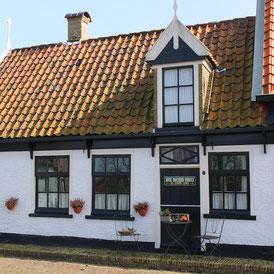Das Dorf De Waal auf Texel