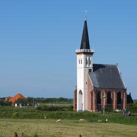 Die Kirche von Den Hoorn auf Texel