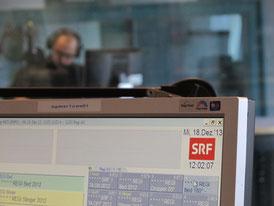 Das Regionalstudio von Radio SRF (Regionaljournal) in Aarau.