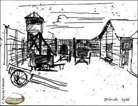 Camp de prisonniers à Brioude (Haute loire), siegfried Haas