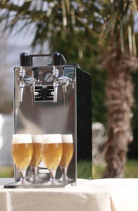 Tireuse à bière double bec froid sec Roanne