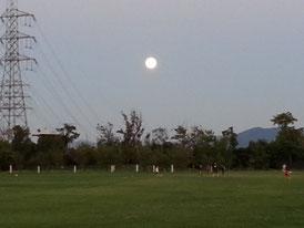ドーム満月(^^♪