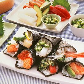 手巻き寿司 イメージ画像