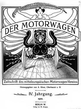 Die erste Automobilzeitung erschien 1887