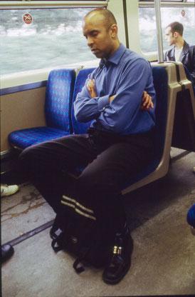 Sleeper, 1998 Tirage argentique contrecollé 20/30 cm & slide projection