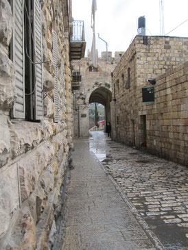 Lions Gate that lead to Via Dolorosa