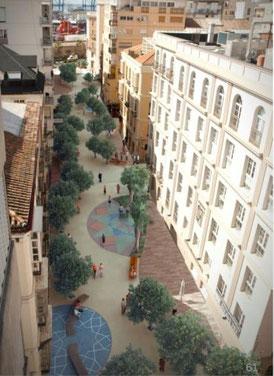 En pleno corazón del SOHO de Málaga