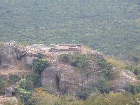 It is seen from the stupa  of Nihonzan Myohoji Temple.