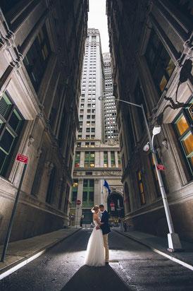 Hochzeit und Sight Seeing