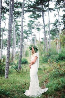 Braut im Boho-Chic