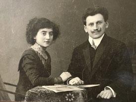 Thekla Kamm, née Sichel b. September 17, 1886 and Willy Kamm b. December 3, 1884