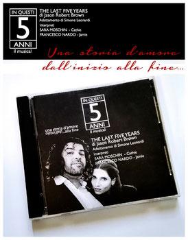 In questi cinque anni - il CD