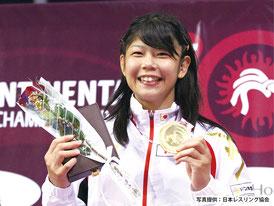 勝利の笑顔で表彰台に立つ「アジアのクイーン」木村安里