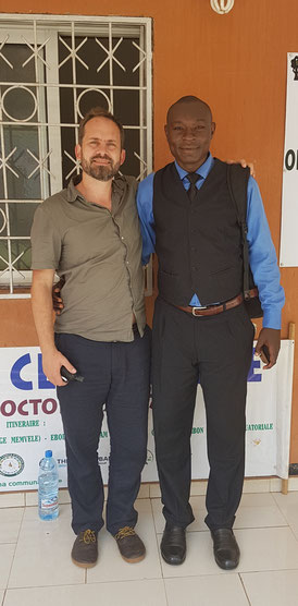 Dr. Simon André Mischel and Mr. Wangho Rene Job