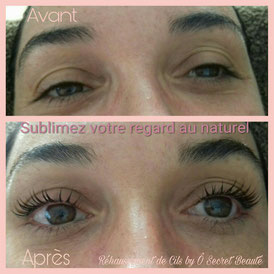 Réhaussement de Cils by Ô Secret Beauté