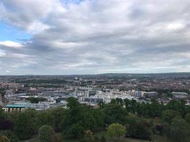 Imagen de la ciudad de Bristol desde 'Cabot Tower' Por Fátima Blanco Macías