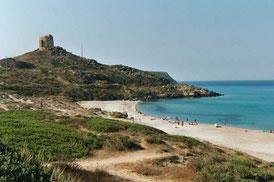 Tour dominant le site de Tharros