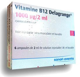 Delagrange B12 enfant nourrisson végane