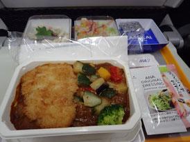 ANA マニラ行 機内食 菜ちゃんのページ