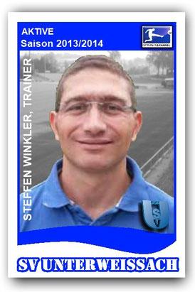 Steffen Winkler, Trainer der 1. Mannschaft