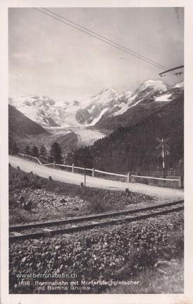 220-021 Spini & Bui, Photo und Verlag, St. Moritz. Karte ungelaufen