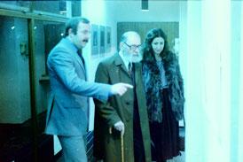 Manfred Kopriva (li.), zusammen mit Prof. Leopold Hauer  in den 70er-Jahren. Foto WaPA