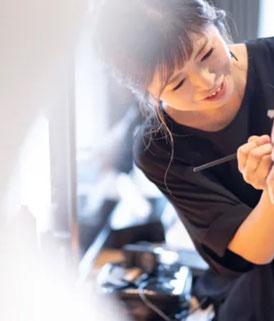石垣島のウェディングヘアメイクアーティスト 遠藤由加里
