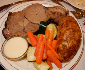 Prime Rib was Cooked to Order - Rare to Well Done