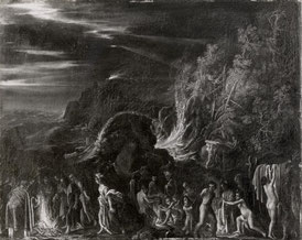 National Gallery, London , Elsheimer Adam - sec. XVI/ XVII - San Paolo a Malta - insiem
