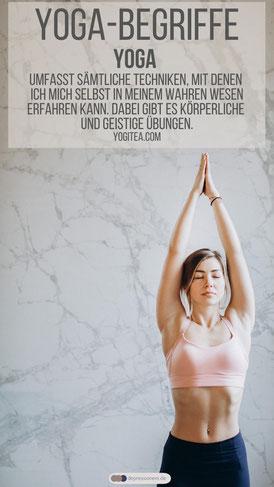 Yoga Top 10 Begriffe: Prana, Chakra, Asana, Mantra, ...