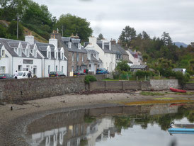 The pretty village of Plockton in the Scottish Highlands