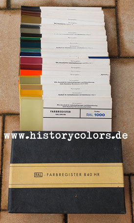 Farbregister RAL 840 HR