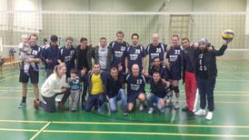 Die Herren-Mannschaft nach dem Sieg gegen VSG Ubstadt/Forst 2