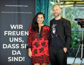"""ALEXANDRA UND CLEMENS PICHLER: """"Das BootCamp findet online als 8-Wochen-Kurs statt. Beginn: September 2021"""""""