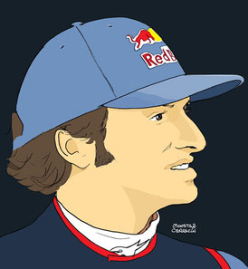 Carlos Sainz Jr by Muneta & Cerracin