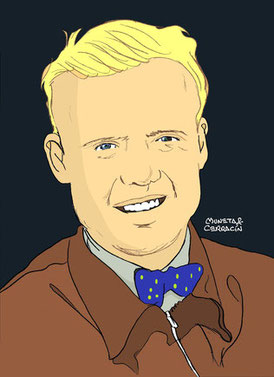 Mike Hawthorn by Muneta & Cerracín