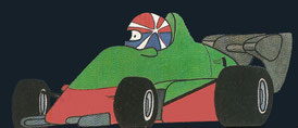 Eddie Cheever by Muneta & Cerracín