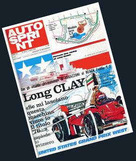 Long Clay en Autosprint