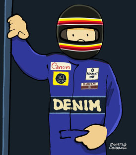 Thierry Boutsen by Muneta & Cerracín