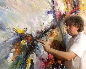 Der Kunstmaler Peter Nottrott