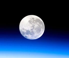 人工衛星から見た月(JAXA)